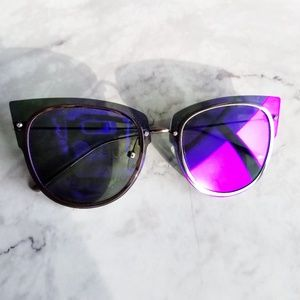 DIFF Eyewear | Demi Lovato Rimless Cat Eye Shades